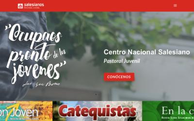 La Pastoral Juvenil Salesiana celebra la fiesta de San Juan Bosco con el lanzamiento de su nueva imagen web
