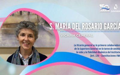 Sor María del Rosario García, Vicaria General de las Hijas de María Auxiliadora